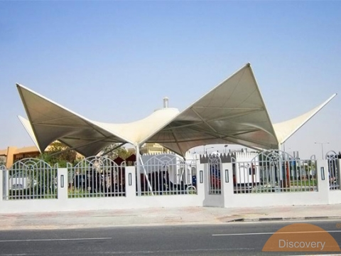Tensile Structures Discovery Awnings